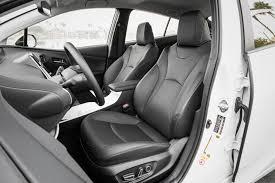 toyota leather seats 2016 toyota prius four touring test review