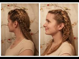 lagertha lothbrok hair braided vikings lagertha inspired braids youtube