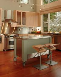 kitchen rolling island rolling kitchen island with seating intended for monfacabrera