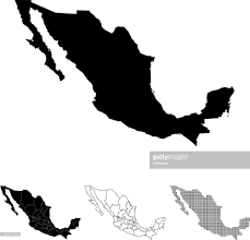 Mexico Map by Mexico Map Vector Art Getty Images