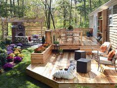 Backyard Entertaining Ideas Outdoor Deck Ideas 2 Out Door Deck Ideas Pinterest Decking