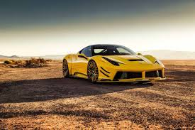 ferrari yellow and black prior design widebody ferrari 458 looks odd in yellow has