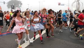 Rock Roll Halloween Costumes Los Angeles California Marathon Run Rock U0027n U0027 Roll