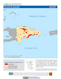 Map Dominican Republic Map Gallery Sedac