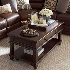 Rectangular Coffee Table Living Room - eos rectangular cocktail table 4 drawers