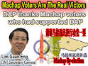 Machap by-election – the real victors « Lim Kit Siang