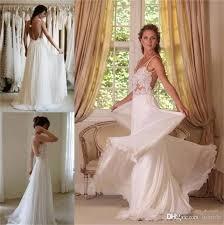 discount 2015 wedding dresses cheap bohemian lace beach spaghetti