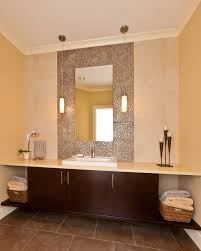 Kirklands Bathroom Mirrors by Kirkland Mirrors Powder Room Contemporary With Storage Basket