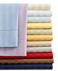 Extra Deep Sheets Charter Club Damask Stripe 500 Tc 100 Cotton Queen Sheet Set