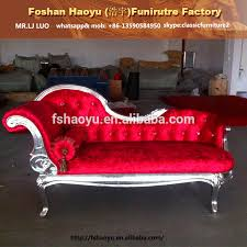 Chaise Lounge Red Elegant Italian Red Chaise Lounge Red Chair Wedding Chair
