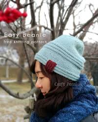 wedding gift knitting patterns easy beanie pattern men women free knit pattern knit