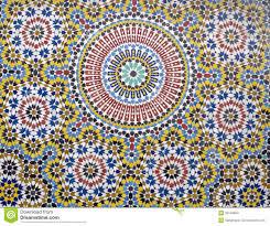 marokkanische fliesen muster stock fotos melden sie sich