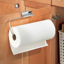 Kitchen Towel Racks For Cabinets Amazon Com Interdesign Axis Over The Cabinet Paper Towel Holder