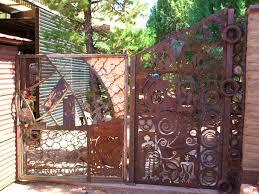 decoration splendid shop dig green steel decorative metal fence