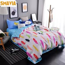 Peacock Feather Comforter Feather Bedding Sets Tags Feather Bedding Set Spring Bedding