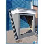 Grp Dormer Grp Apex Style Dormer Window Shell Prefabricated Dormer Window