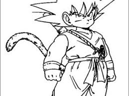 goku coloring dragon ball coloring pages coloring book