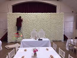 wedding party supplies wedding flower wall and frame wedding flower background aluminum