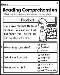 free first grade reading fluency and comprehension teaching