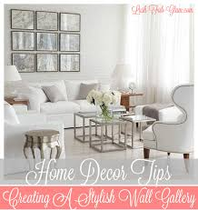Stylish Home Decor Lush Fab Glam Blogazine How To Create A Stylish Wall Gallery