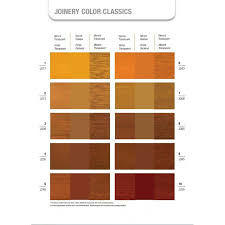 sikkens wood coatings semi transparent colour card for joinery