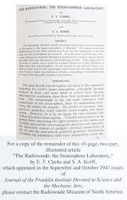 magazine articles radiosonde museum of north america