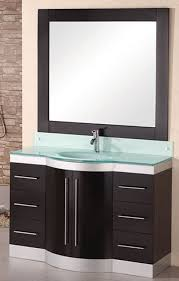 design element jade single integrated glass drop in sink and
