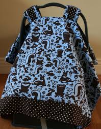 Universal Car Seat Canopy by Baby Car Seat Cover Tutorial