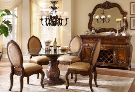 dining rooms with round tables aico lavelle melange 54000 34 round table dining set