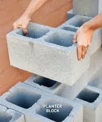 how build decorative concrete planter wall home improvement and
