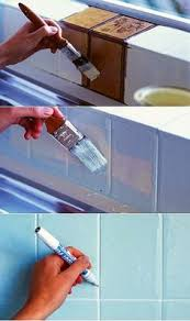 How To Paint Bathroom Tile How To Paint Tiles You Can Do That Awesome Idea To Renovate