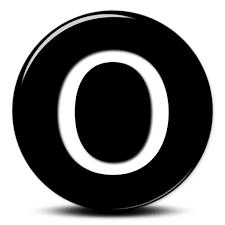 capital letter o icon 070570 icons etc