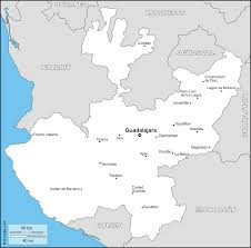 Colima Mexico Map by Jalisco Free Map Free Blank Map Free Outline Map Free Base Map