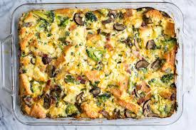 egg strata casserole as you like it breakfast casserole recipe simplyrecipes com