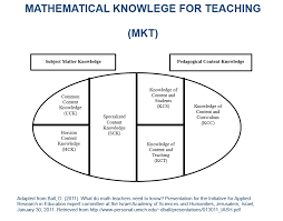 undergraduate education mathematical knowledge for teaching