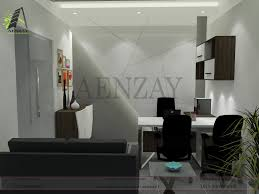 software house manager room designed by aenzay interiors interior