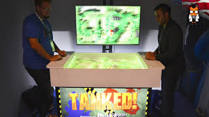 S And W Cabinets Tanked Is Played On Sand With A Real Sense Camera Idf 2015 Youtube
