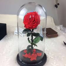 Forever Rose In Glass Dome List Manufacturers Of Preserved Flower In Glass Dome Buy