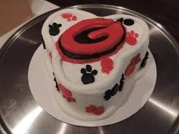 georgia bulldog mini cake picture of smallcakes a cupcakery