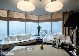 honest re office inside burj khalifa full floor designed and