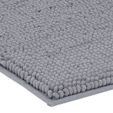 Silver Bath Rugs Looped Solid Memory Foam Bath Mats Mohawk Home Target