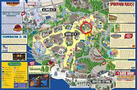Universal Studios Orlando Park Map by Kitt At Universal Studios Knight Rider Online