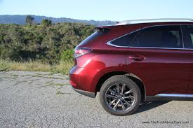 lexus crossover 2013 review 2013 lexus rx 350 f sport video the truth about cars