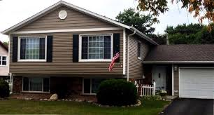siding options for split level homes google search house