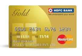 Hdfc Credit Card Payment Bill Desk Gold Credit Card Business Gold Credit Card Hdfc Bank