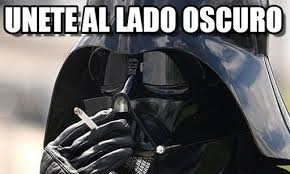 Memes De Star Wars - unete al lado oscuro star wars meme on memegen