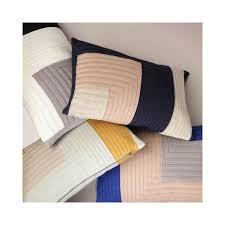 panier ferm living rectangular dark blue salon cushion angle by ferm living
