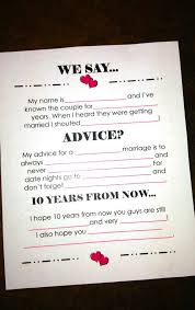 wedding advice cards best 25 wedding advice cards ideas on bridal shower