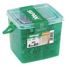 spax flooring screws 4 5 x 60mm 300 pack flooring screws