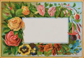 vintage cards free digital scrapbooking vintage floral journal card oh so